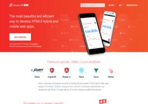 Onsen UI framework for mobile apps using angular