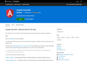 Angular Essentials Extensions for VS Code