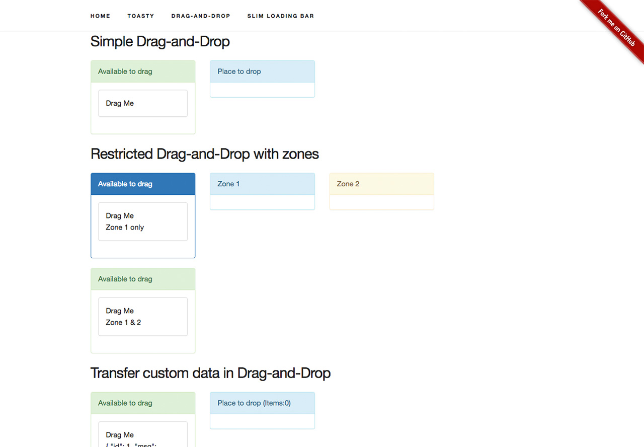 Angular 2 Drag-and-Drop